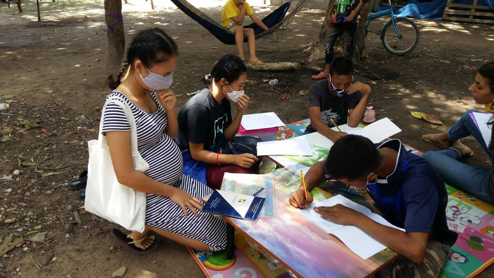 Helping communities impacted by the virus in Thailand.